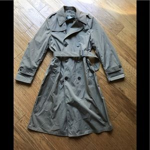 Marine Corp. All Weather Trench Coat w/ Liner; 38L